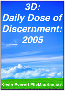 Book cover for 3D: Daily Dose of Discernment: 2005