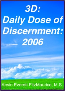 Book cover for 3D: Daily Dose of Discernment: 2006