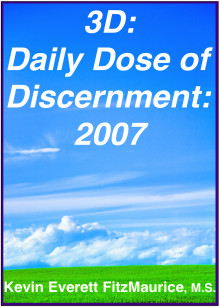 Book cover for 3D: Daily Dose of Discernment: 2007