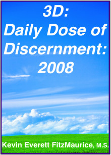 Book cover for 3D: Daily Dose of Discernment: 2008
