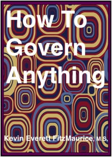 Book cover for HOW TO GOVERN ANYTHING