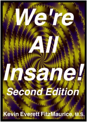 Book cover for We're All Insane