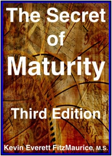 Book cover SECRET OF MATURITY