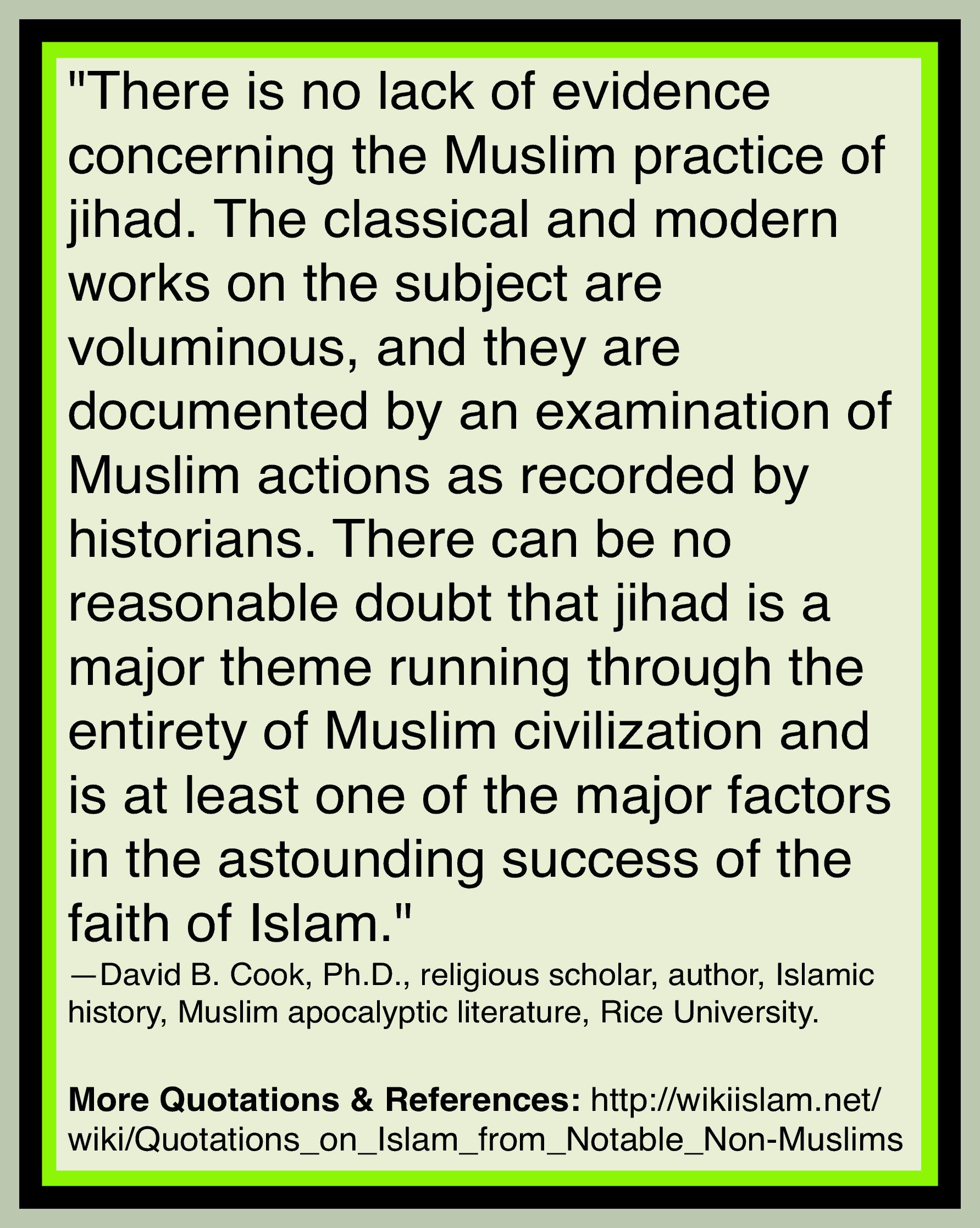 Islam is jihad