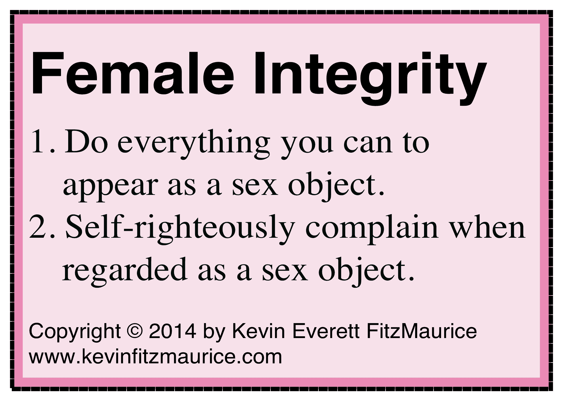 female integrity