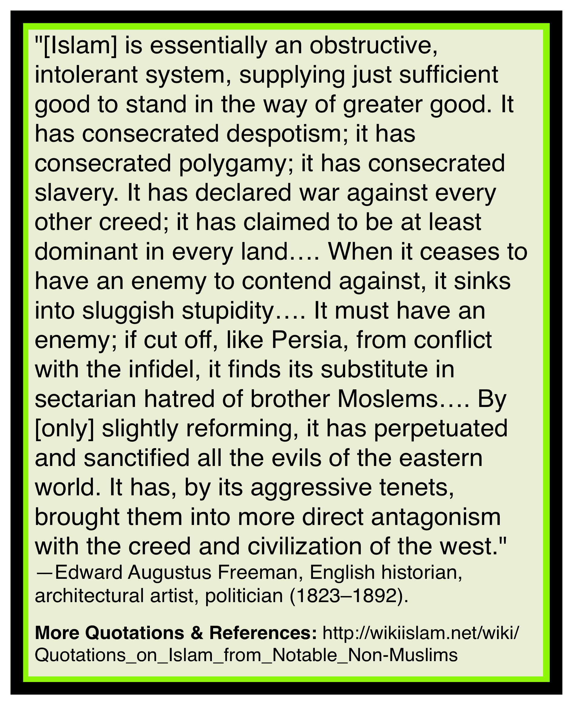 Islam in the way of good