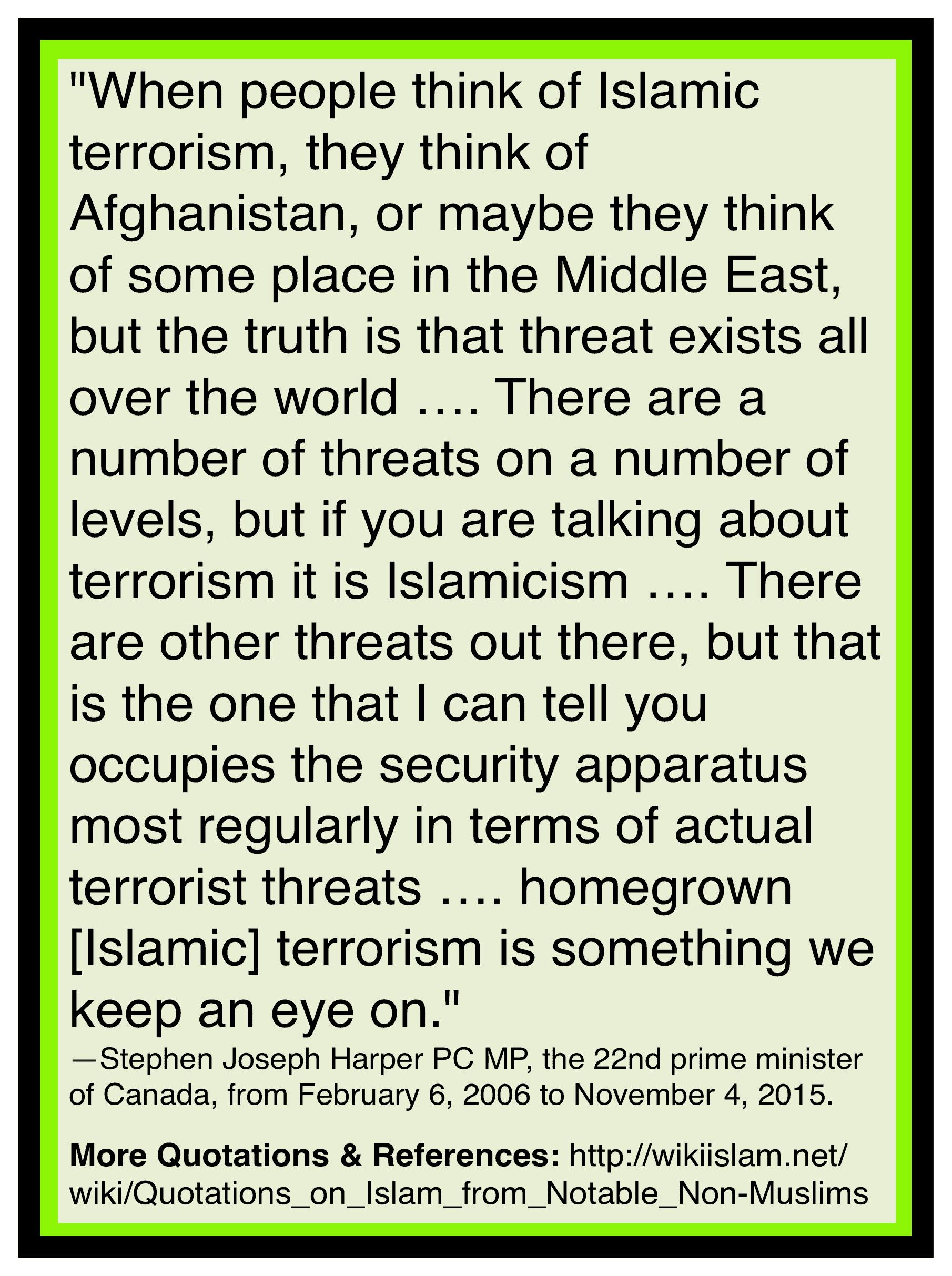 Islam is terrorism