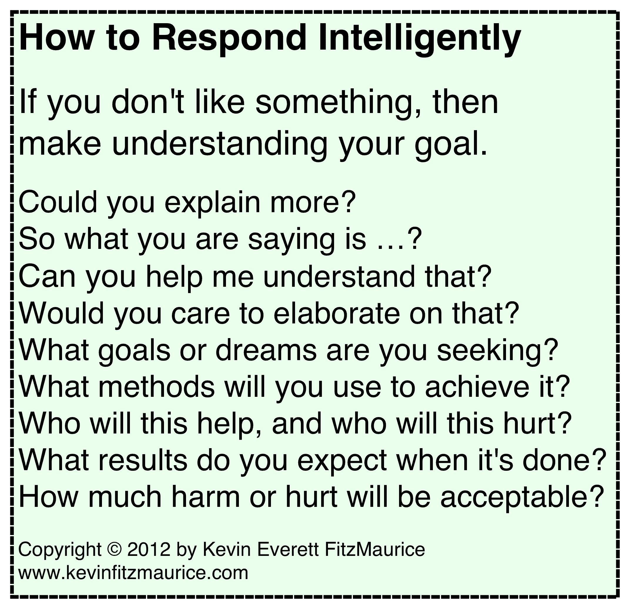 intelligent responding