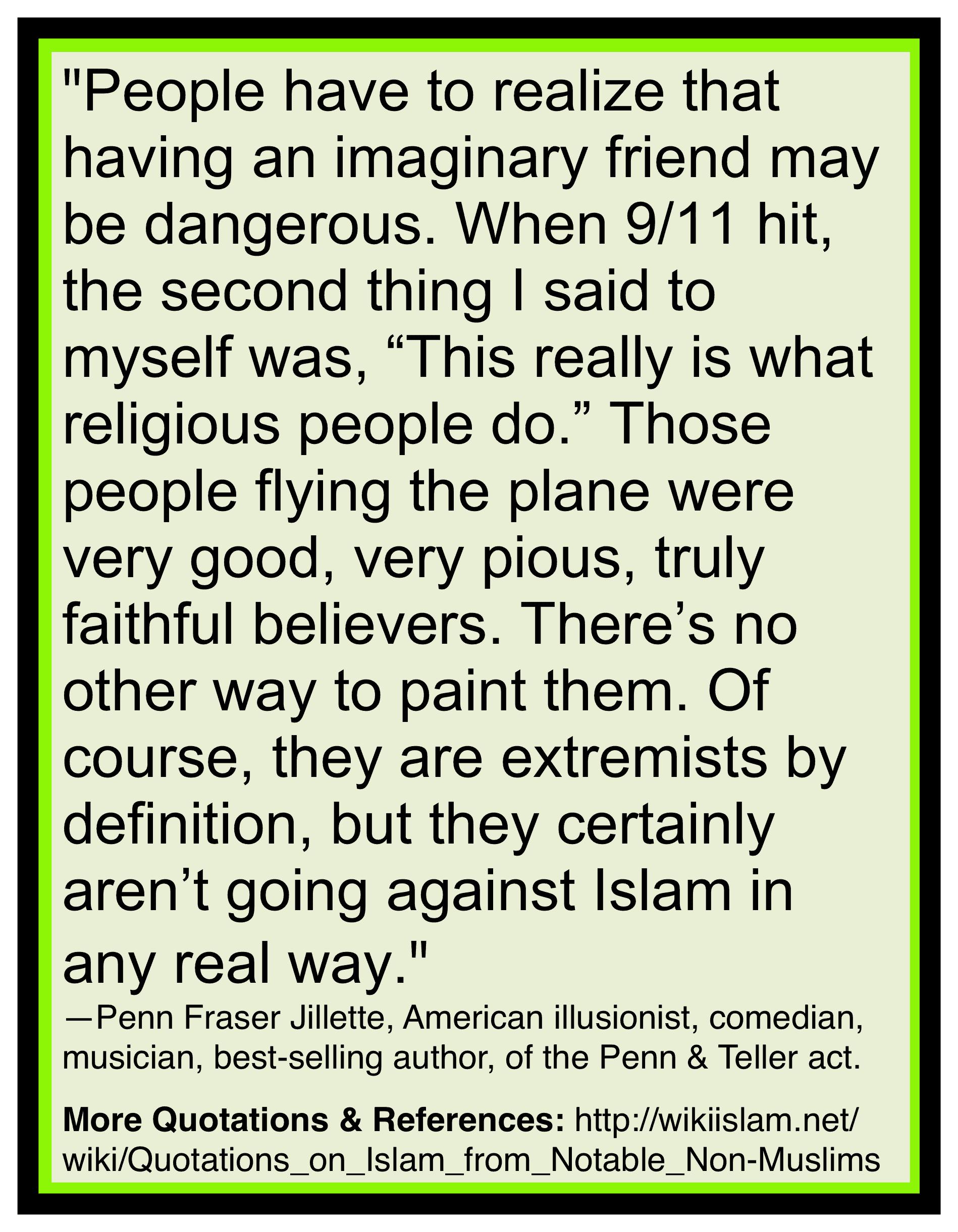 Islam extremism is Islam