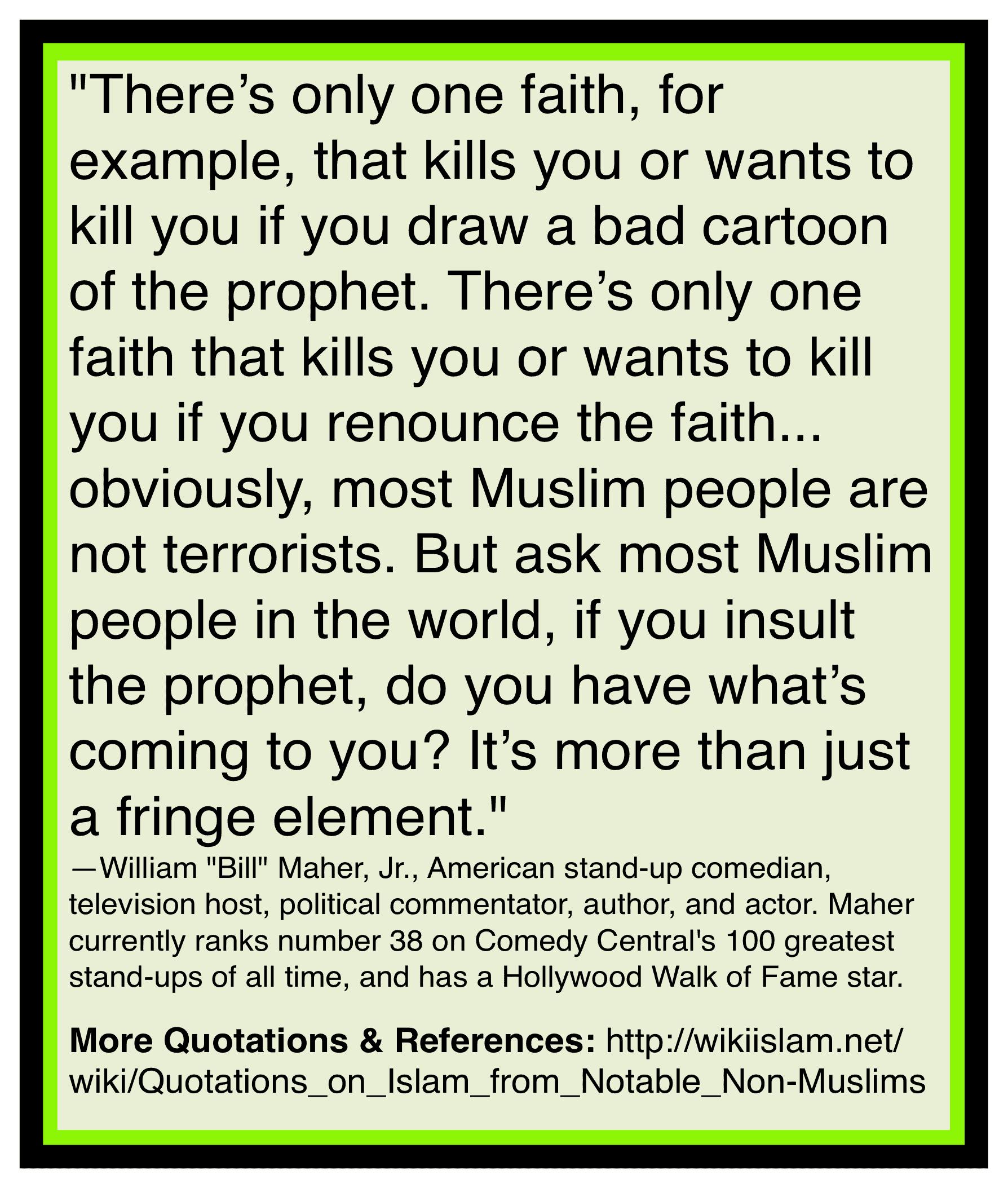 Islam murders for cartoons