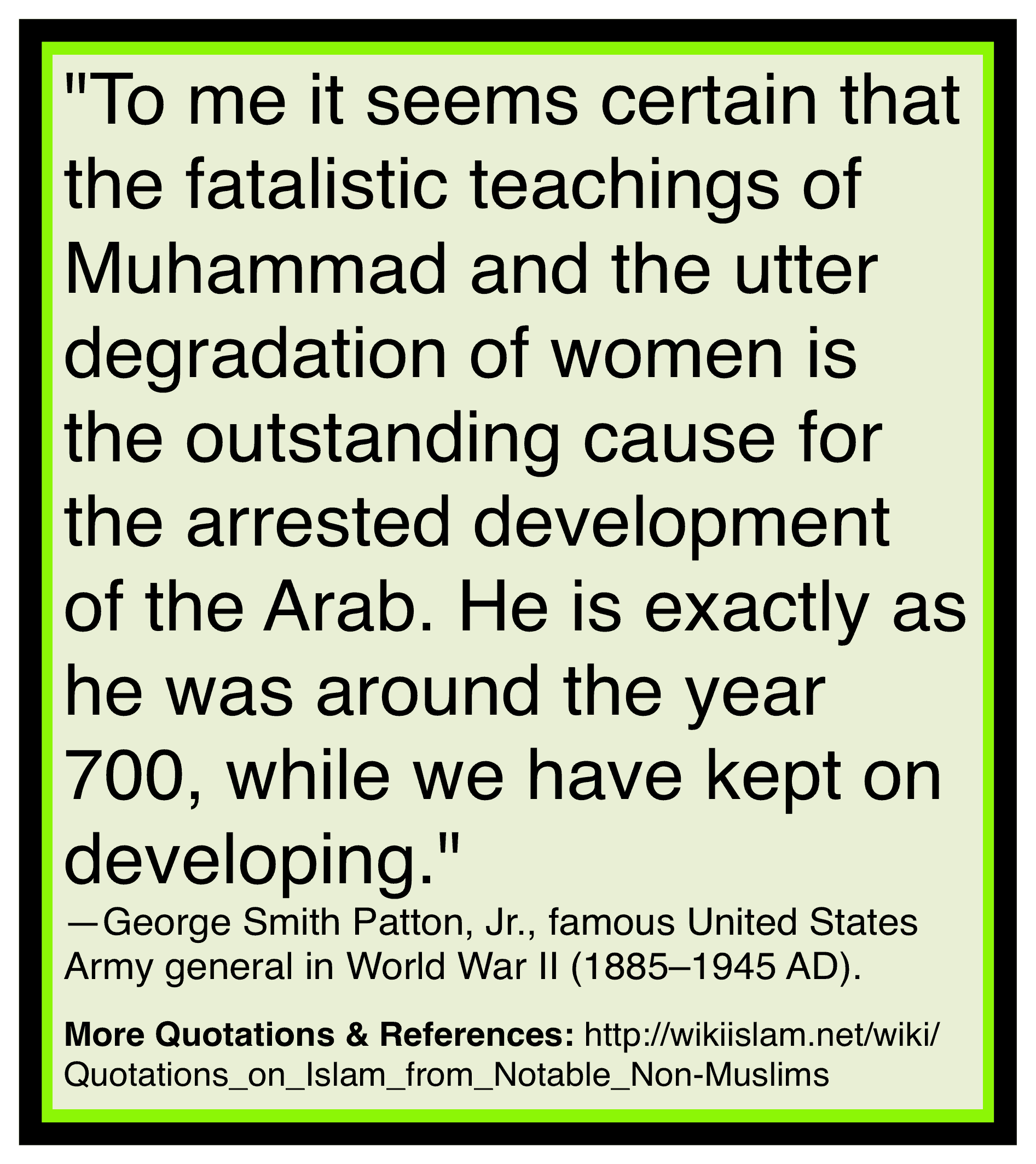 Islam ruins development