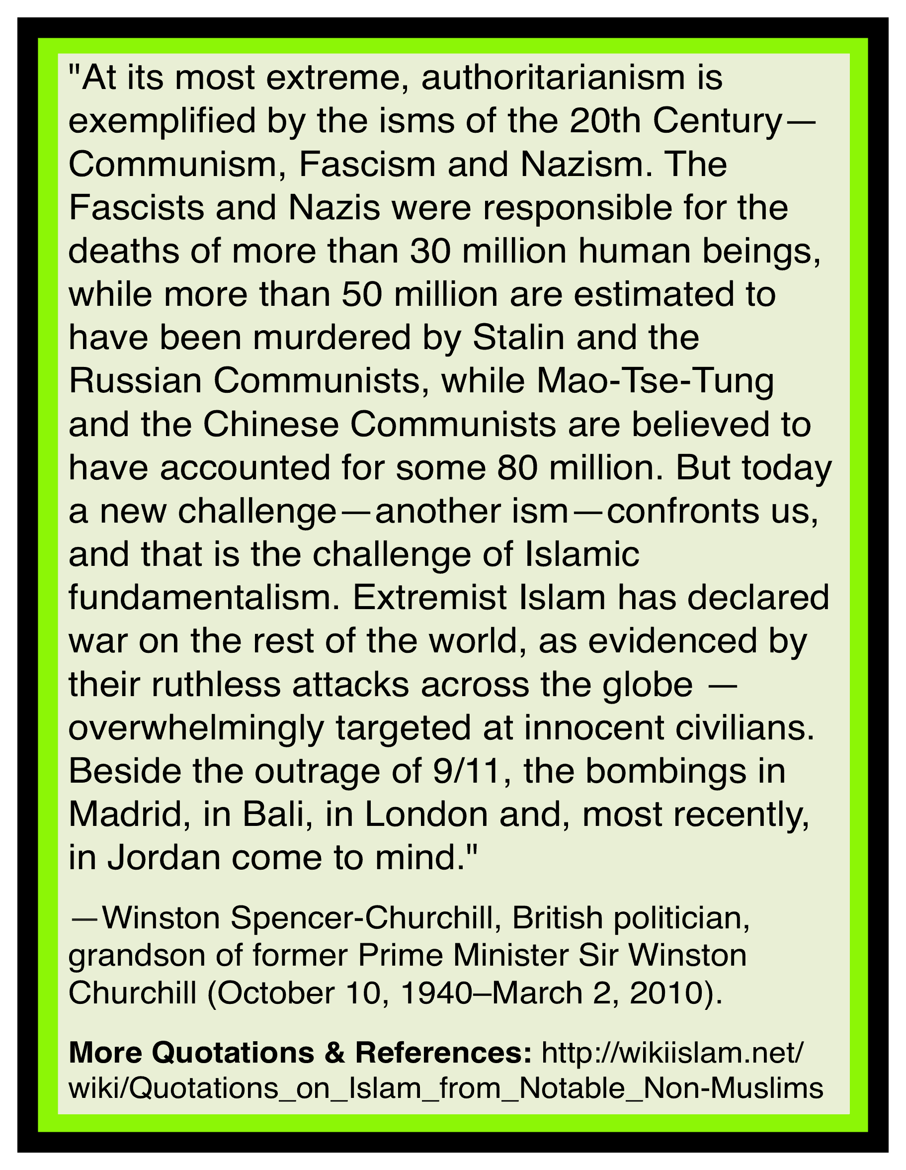 Islam is Fascism