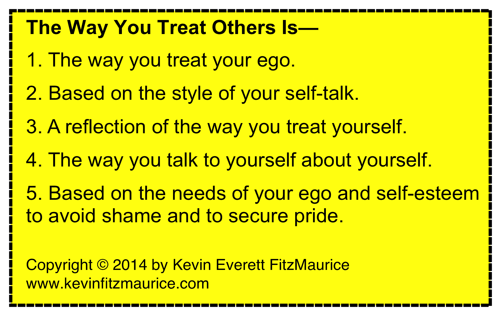 treat others like self