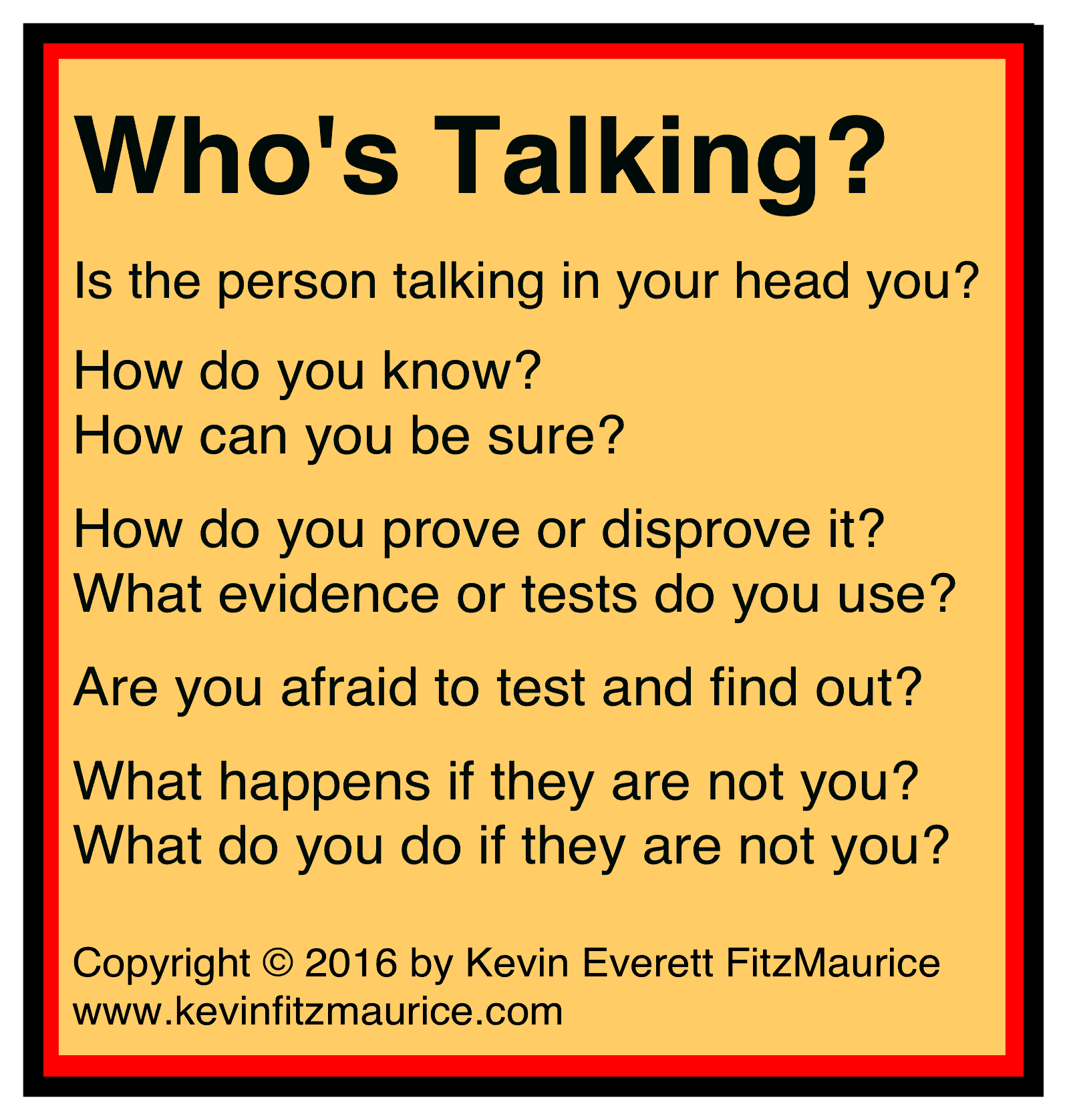 who is talking inside