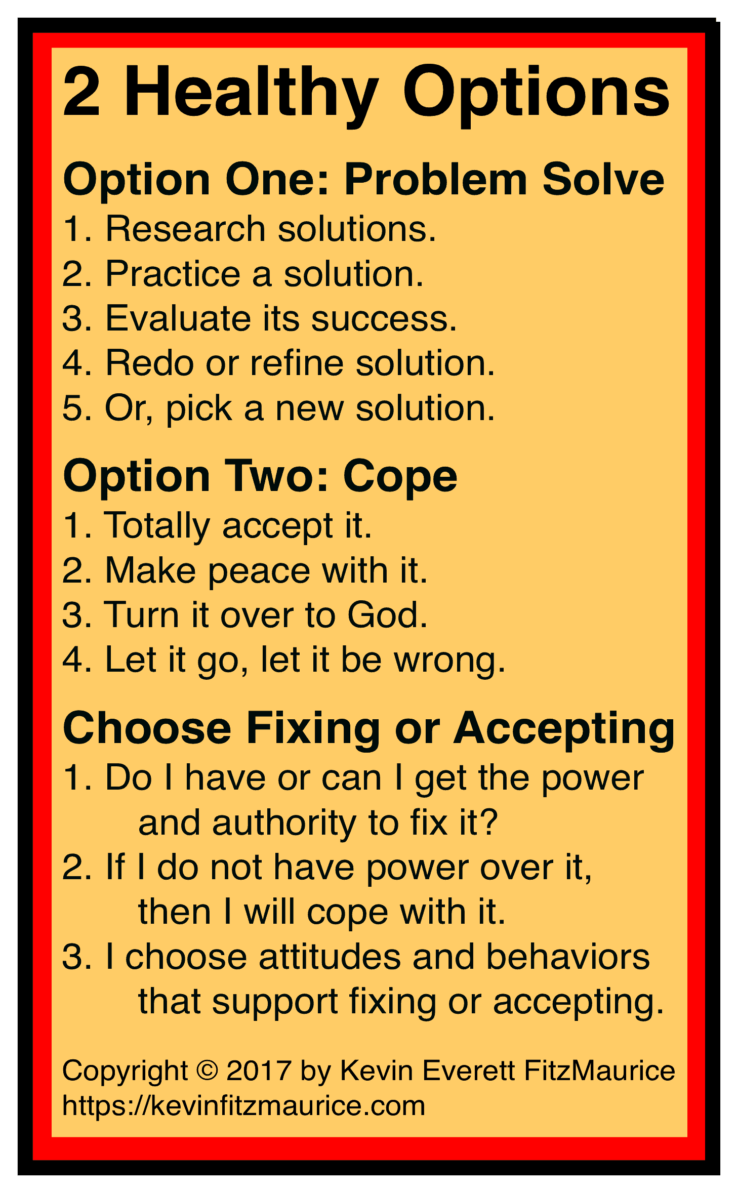 2 Healthy Options for Coping