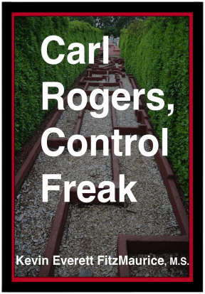 "Book Cover ""Carl Rogers, Control Freak"""