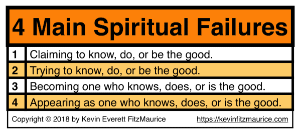 4 Main Spiritual Failures Text