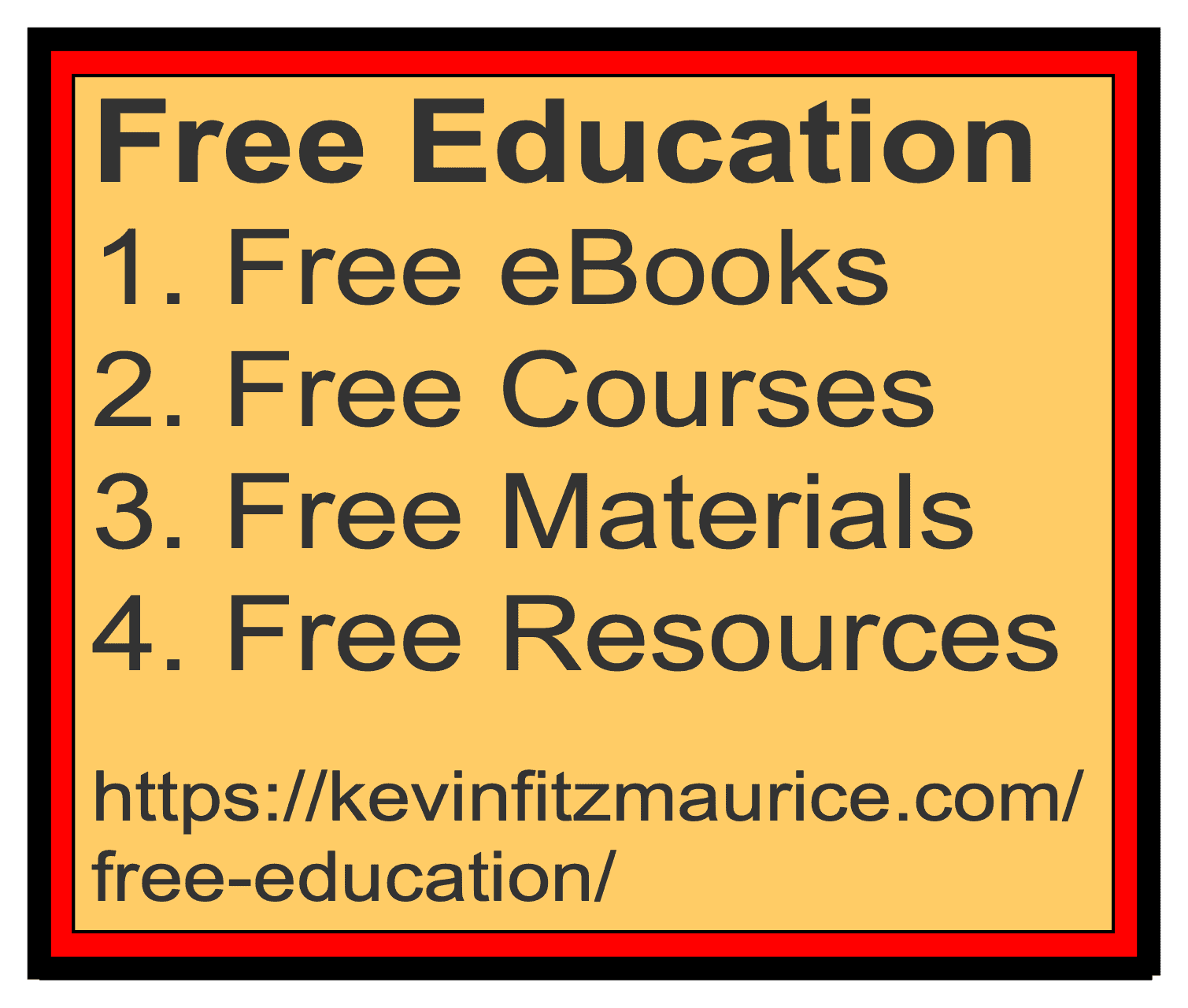 Free Education Lists