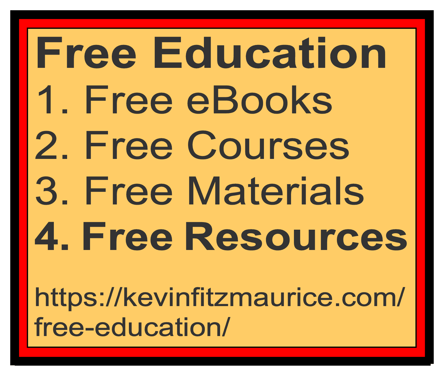 Free Education Lists for Resources