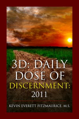 Book Cover for 3D: Daily Dose of Discernment: 2011