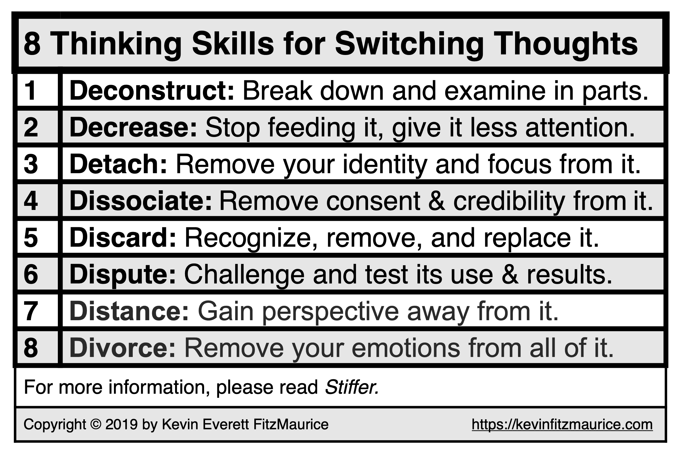 8 Thinking Skills to Use for Switching Your Thinking