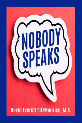 "Book cover for the book ""Nobody Speaks"""