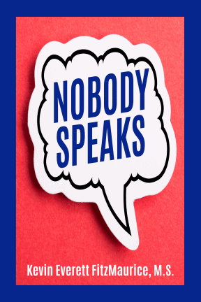 """Book cover for the book """"Nobody Speaks"""""""